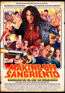 MAKING OFF SANGRIENTO MASACRE EN EL SET DE FILMACION