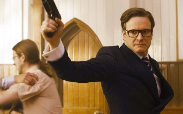 Still of Colin Firth in Kingsman: Servicio secreto