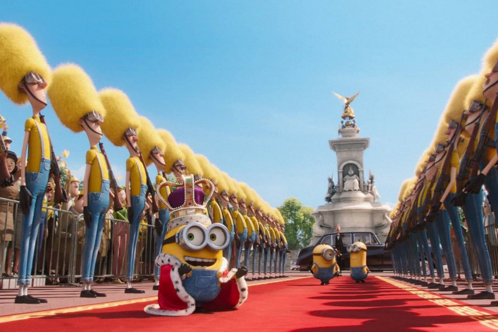 """Minions"" es la película más exitosa de Illumination Entertainment."