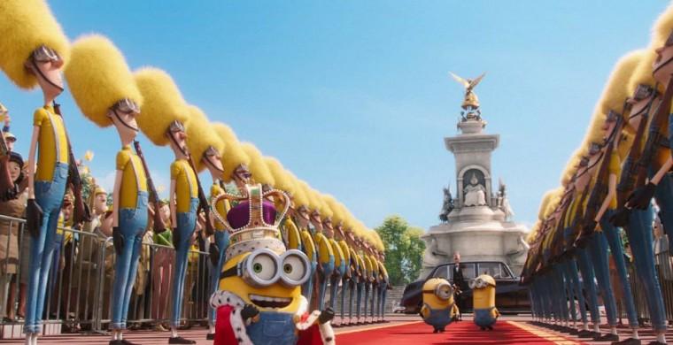 """""""Minions"""" es la película más exitosa de Illumination Entertainment."""