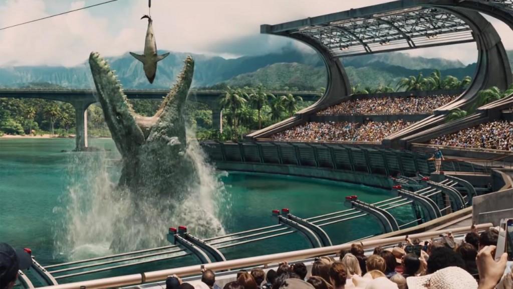 """""""Jurassic World"""", la película más taquillera en los mercados mundiales, se ubicó en el quinto puesto en Argentina."""