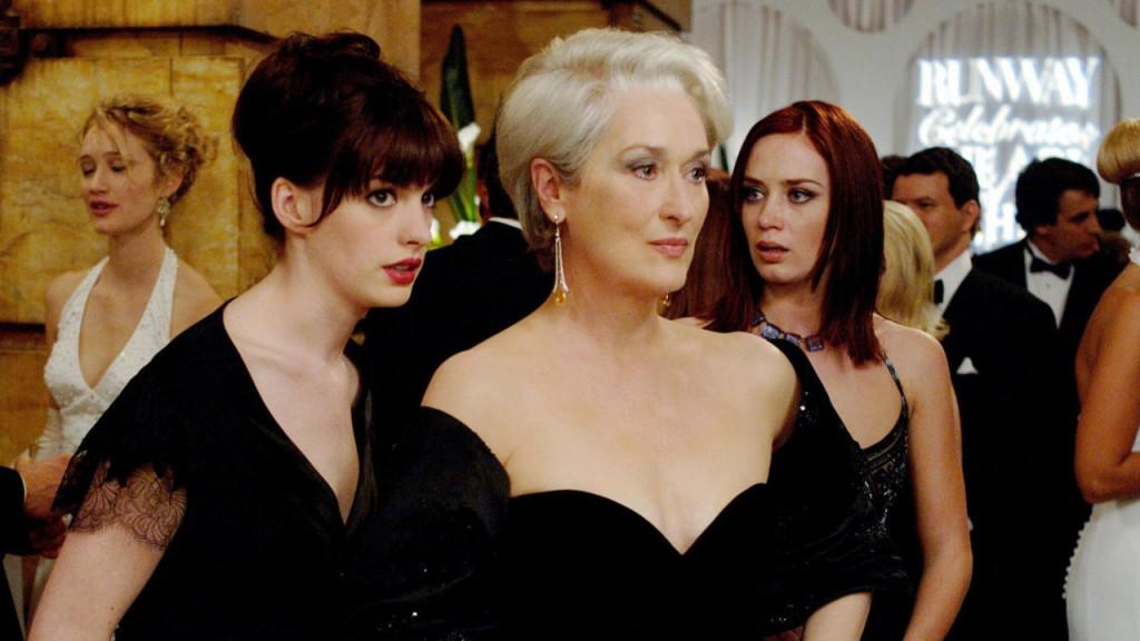 """""""El diablo viste a la moda"""" fue una de las comedias femeninas más taquilleras en Argentina."""