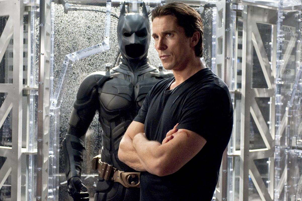 Christian Bale interpretó a Batman en tres oportunidades.