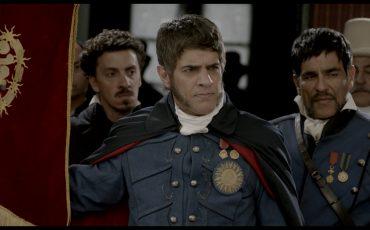 Echarri interpreta a San Martín.