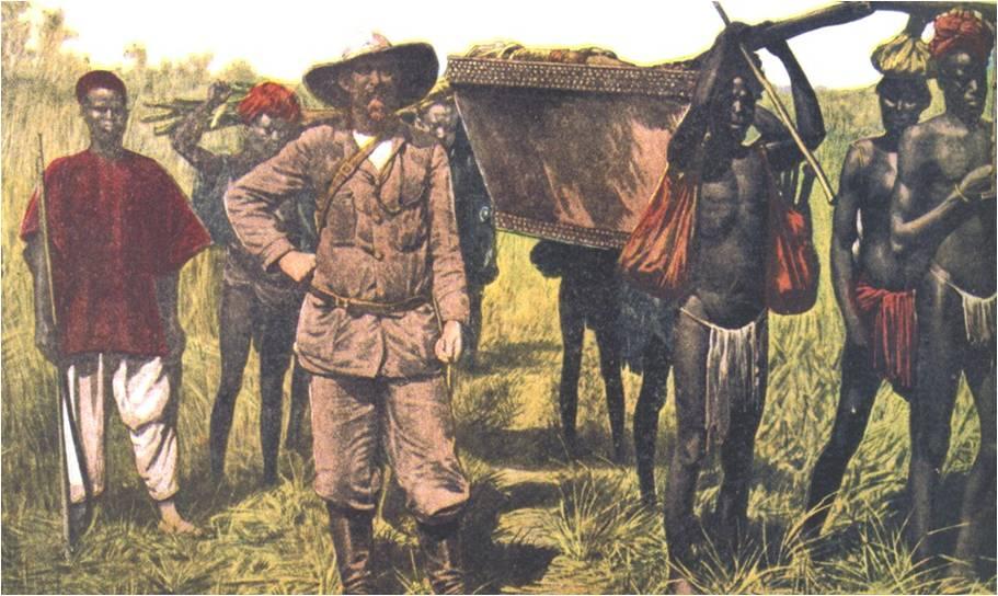 Colonialismo en Africa.