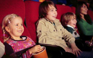 familia en cine